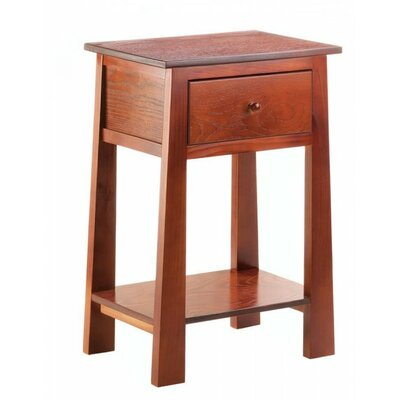 Contemporary Craftsman 1 Drawer Nightstand