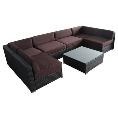 Sofa Cover Color: Deep Coffee