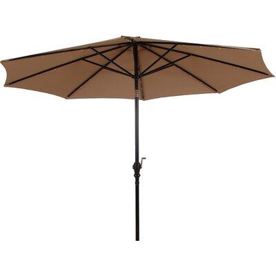 Premium Solar Powered LED Lighted Illuminated Umbrella