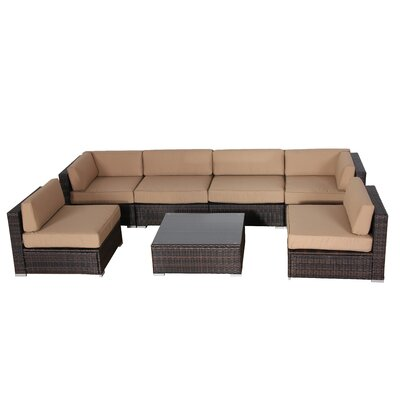 Outdoor Loveseat/Sofa Cushion Covers Color: Beige
