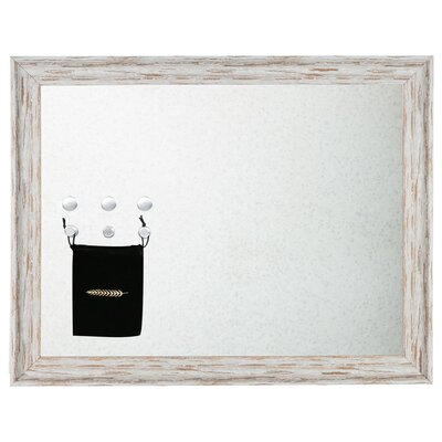 Aria Magnetic Wall Mounted Jewelry Holder Color: Whitewashed