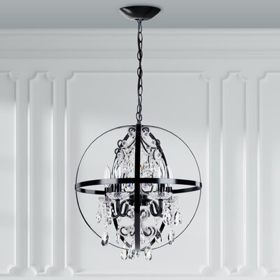 Luna 5-Light Globe Pendant