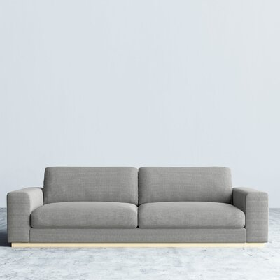 Noah Sofa Upholstery: Dust Gray