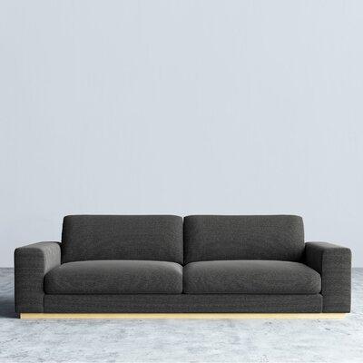 Noah Sofa Upholstery: Charcoal
