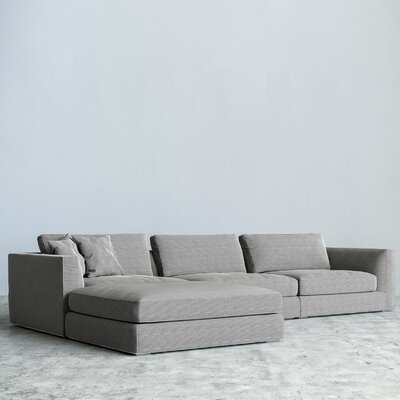 Milo Modular Sectional Upholstery: Dust Gray