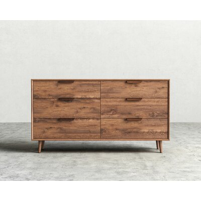 Asher 6 Drawer Dresser