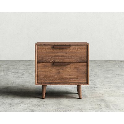 Asher 2 Drawer Night Stand