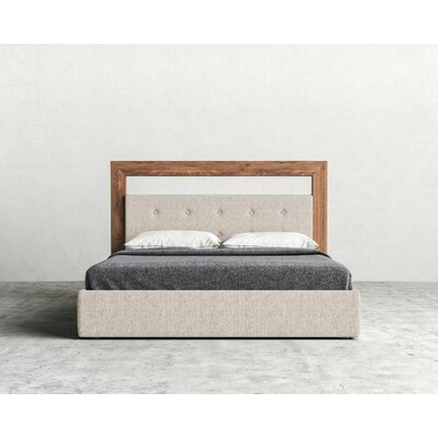 Chloe Upholstered Platform Bed Size: King