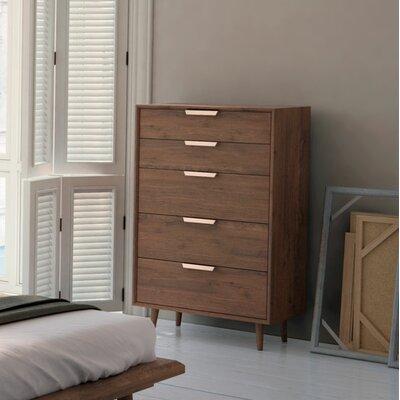 Asher 5 Drawer Dresser
