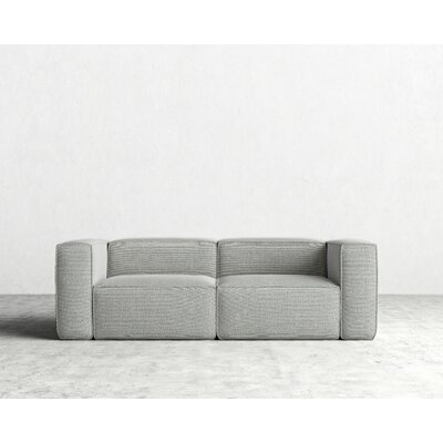 Marlowe Sofa Color: Fog Gray