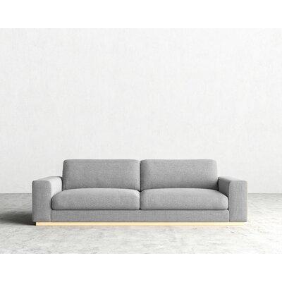 Noah Sofa Upholstery: Concrete Linen Weave
