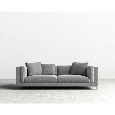 Nico Sofa Color: Dust Grey