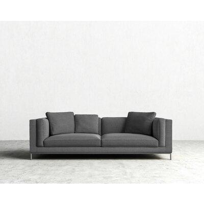 Nico Sofa Color: Mineral Gray