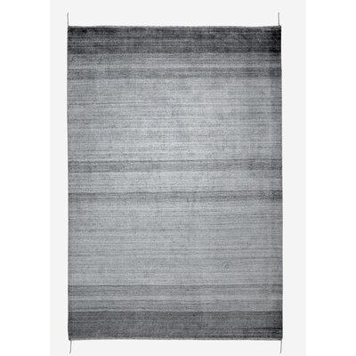 Isla Hand-Woven Gray Area Rug Rug Size: 8 x 10