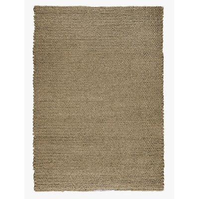 Sebastian Hand-Woven Chestnut Area Rug Rug Size: 53 x 76