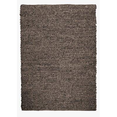 Sebastian Hand-Woven Chocolate Area Rug Rug Size: 8 x 10
