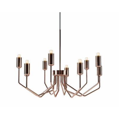 Eleanor 10-Light Candle-Style Chandelier