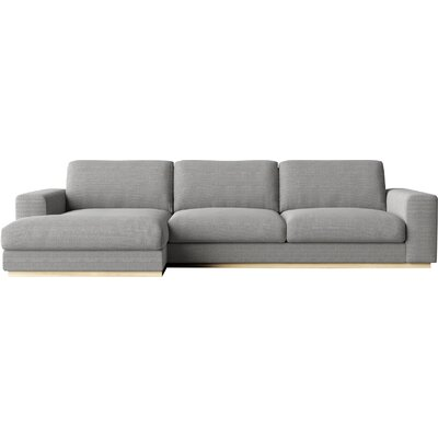 Sectional Orientation: Left Hand Facing, Upholstery: Concrete