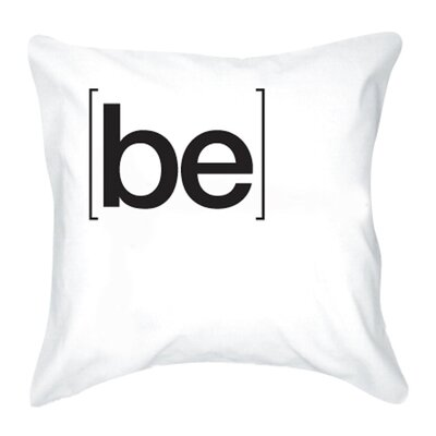 Be Cotton Pillow Cover