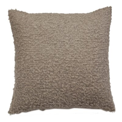 Boucle Throw Pillow Color: Oyster