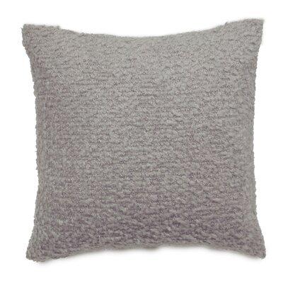 Boucle Throw Pillow Color: Light Gray