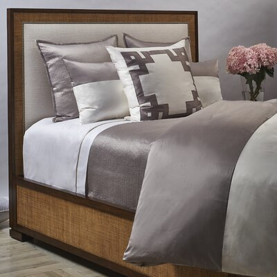 Motif 3 Piece Duvet Cover Set Size: King, Color: Taupe