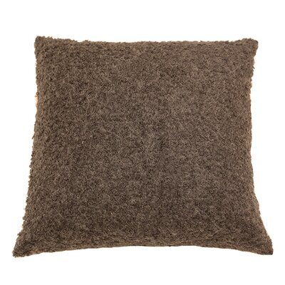 Boucle Throw Pillow Color: Taupe