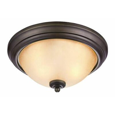 Chapel Hill 2 Light Flush Mount (Set of 2)