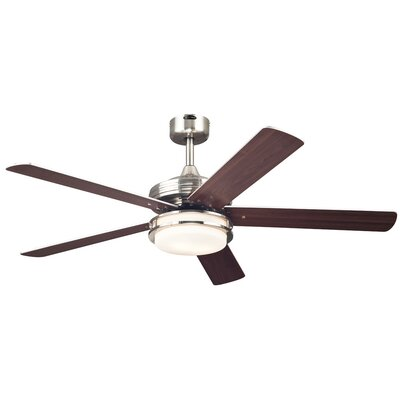 52 Boulder 5 Reversible Blade Ceiling Fan