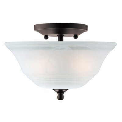 Birch Creek 2-Light Semi Flush Mount