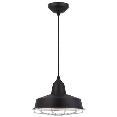 Ashly 1-Light LED Bowl Pendant