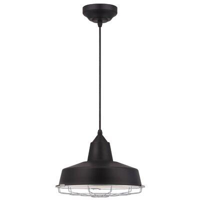 Ashly 1-Light LED Bowl Pendant