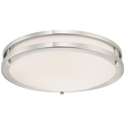 1-Light Dimmable LED Flush Mount