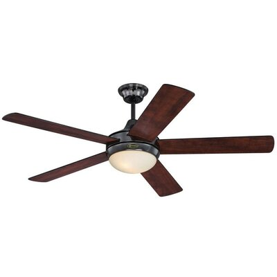 Zander 52 Reversible Five-Blade Indoor Ceiling Fan