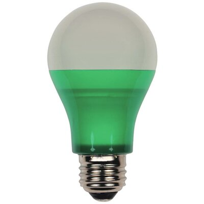 Westinghouse 40-Watt Equivalent Medium Base Green Omni A19 LED Party Bulb