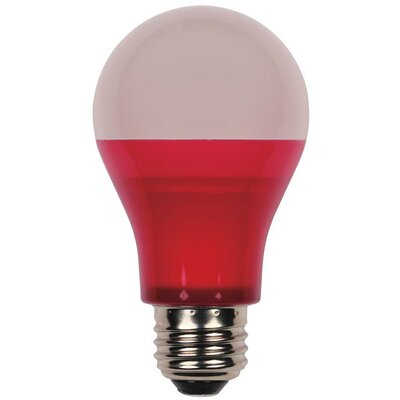 Westinghouse 40-Watt Equivalent Medium Base Red Omni A19 LED Party Bulb