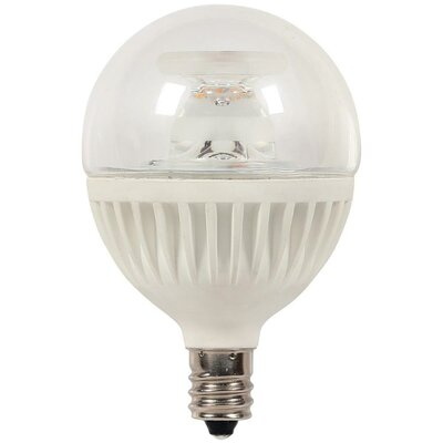 7W Candelabra Base LED Light Bulb