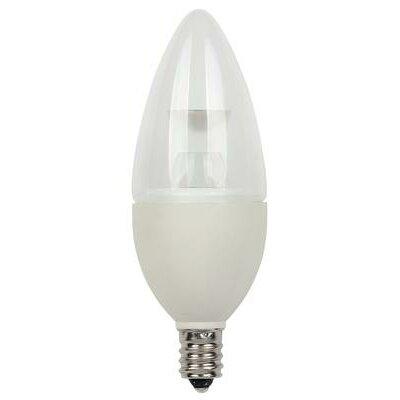 3-Watt (25-Watt) Torpedo B10 Dimmable LED Light Bulb