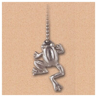 Details Frog Ceiling Fan Pull Chain in Brushed Nickel (Set of 6)