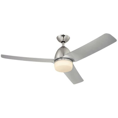 52 Delancey 3-Blade Ceiling Fan with Remote Control