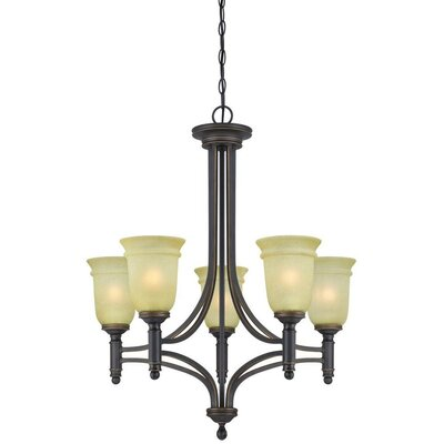 Montrose 5-Light Shaded Chandelier