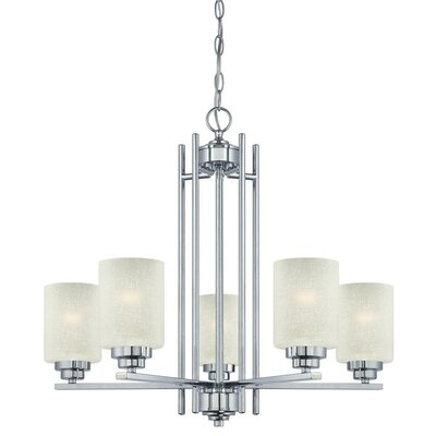 Hansen 5-Light Shaded Chandelier