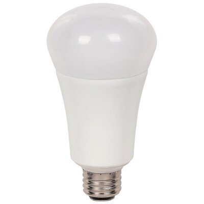 4/9/20 Watt (30/60/100 Watt) Omni A21 3-Way LED Light Bulb