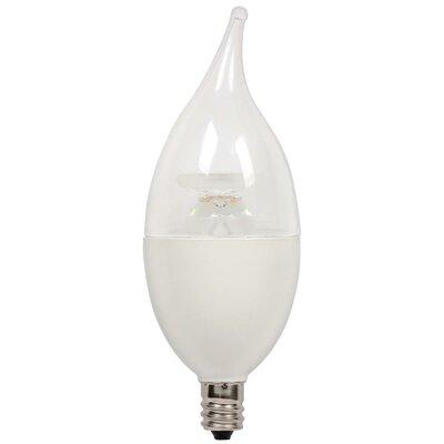 7W E12/Candelabra LED Light Bulb (Set of 4)