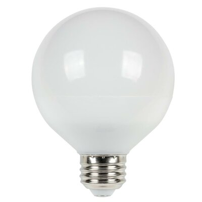 Cool Bright Medium Base G25 LED Light Bulb