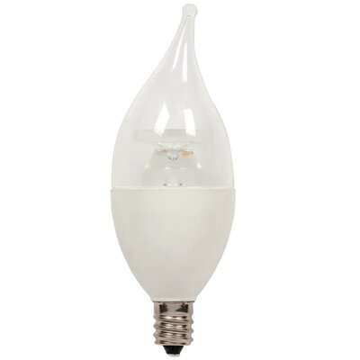 5W Candelabra Base C11 LED Light Bulb