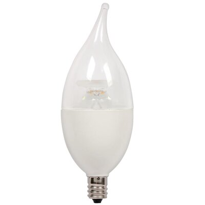 7W Candelabra Base C13 LED Light Bulb