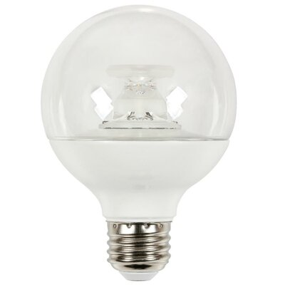 7W Medium Base G25 LED Light Bulb