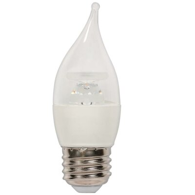 5W Medium Base C11 LED Light Bulb
