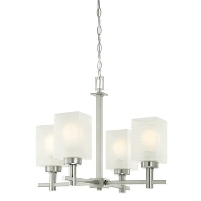 Ingram 4-Light Shaded Chandelier